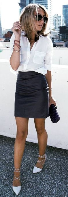 Black And White Street Chic                                                                             Source