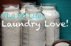 Camp Wander: Love Your Laundry! Fragrant Laundry Soap & Softener
