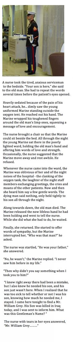 This is such a sad but touching story