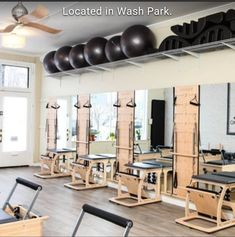 jpg x - Pilates Workout Basement Workout Room, Workout Room Home, Workout Rooms, Gym Interior, Room Interior Design, Interior Design Studio, Home Study Design, Home Gym Design, Small Home Gyms