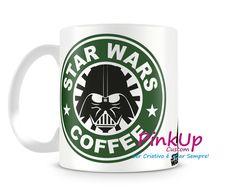 Caneca Stars Wars Coffee