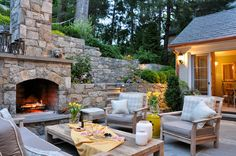 Beautiful patio perfect for summer barbecues from Houzz into Home: Interior Design Trends Youve Got to See