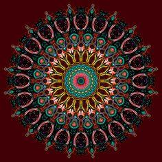 Ronnie Mandala by Joy McKenzie on Fine Art America
