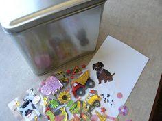 The Creative Homemaker: Church Bag Activities {Part 4 of 5}