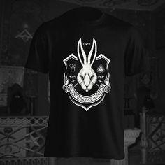 Come to us at SkullsSociety.com  #rabbit #tshirt #occult #art #goth #dark #gothic #illustration #ritual #darkart #occultism #drawing #illuminati #alchemy #baphomet #fashion #witchcraft #witch #pagan #magick #wicca #magic #tarot #horror #blackmetal #ouija #killstar #black #clothing #skullssociety