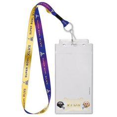 "San Francisco 49ers vs. Baltimore Ravens Super Bowl XLVII Dueling 1"" Lanyard with Credential Holder"