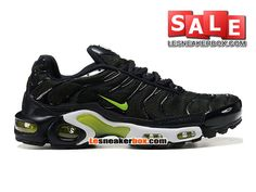 NIKE AIR MAX TN/TUNED REQUIN 2013 - CHAUSSURES NIKE SPORTSWEAR PAS CHER POUR HOMME Vert/Noir/Blanc 604133-211