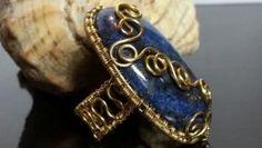 Перстень с лазуритом