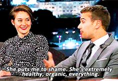 They're an inspiration — to each other and to us. | 9 Reasons Why Shailene Woodley And Theo James Are Awesome