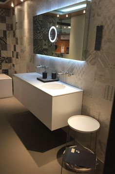 SIGN in #Germany __ www.signweb.it __ Thanks to Krüger Hannover GmbH & Co. KG __ #bathroom #design