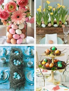 Easter Inspiration | Boston Interiors Blog Boston Interiors, Easter Stuff, New Furniture, Holiday Ideas, Table Decorations, Living Room, Interior Design, Spring, Blog