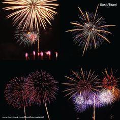 Pattaya International Fireworks Festival 2013 at Dusit Thani Pattaya #thailand