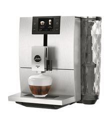 Shop Jura ENA 8 Single-Serve Coffeemaker Nordic White at Best Buy. Espresso Machine, Jura Coffee Machine, Latte Macchiato, Carafe, Fresh Ground Coffee, Automatic Coffee Machine, Water Spout, Single Serve Coffee, Expresso