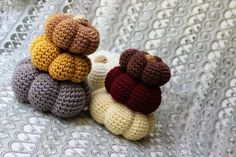 10 #Autumn #Crochet Items To Make This Falll: Crochet Pumpkins