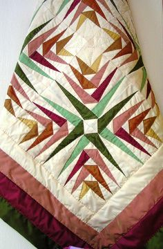 Patchwork Quilt by nadidenin, via Flickr