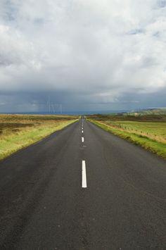 "Photo ""CoastalRoute"" by GregDaddyMac Blue Hour, Northern Ireland, Photo Contest, My Photos, Coastal, Scenery, Country Roads, Journey, Community"
