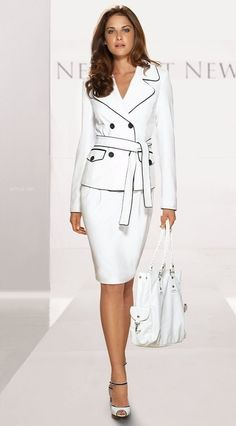 Business Skirt Suits for Women | Tailored Suit Women Career Suit ...