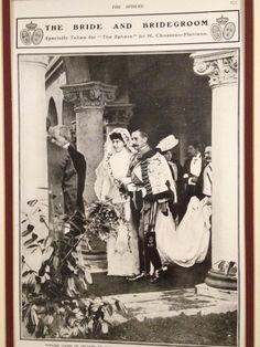 Húsares de la Princesa. La boda real celebrada en Wood Norton en 1907 entre la Princesa Louise de Orleans  y Carlos de Borbón. The Royal Wedding held at Wood Norton in 1907 between Princess Louise of Orleans and Prince Charles of Bourbon