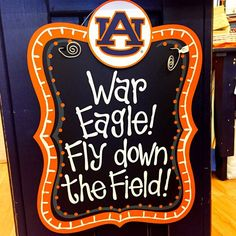 No matter the season, show the world which team you support on your front door with this Auburn 16x20 Hanging Board! To purchase, visit our website at www.auburnart.com today.