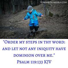 Psalm 119:133 KJV