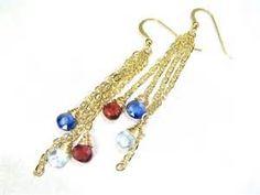 Gold Tourmaline Garnet Oie Jewelry Earrings Pinterest