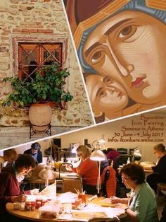 Byzantine Icon Painting Seminar at ‪#‎Plaka‬, ‪#‎Athens‬ - Greece - the heart of the historical centre, under the ‪#‎Acropolis‬. 30 June - 4 July 2015. Welcome! Seminar i bysantinsk ikonmaling 30. juni - 4. juli 2015. Velkommen! Mer informasjon / more info: http://ikonkurs.webs.com or byzantineiconpainting@gmail.com