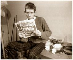 Shane Patrick Lysaght MacGowan, London 1976.