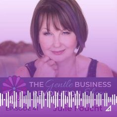 Are you interested in leading with your feminine side in your business but have doubts because it's not common? Julie Foucht joins me in this episode to discuss how to make this happen. Small Business Marketing, Revolution, Connection, Feminine, Shit Happens, Women's