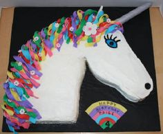 This is the cake design Alex wants for her birthday