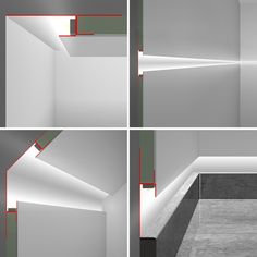 The Sleek and Stylish Wet Rooms for a Trendy Look! Cove Lighting Ceiling, Ceiling Light Design, Ceiling Lights, Indirect Lighting, Linear Lighting, Strip Lighting, Home Lighting Design, Interior Lighting, Blitz Design