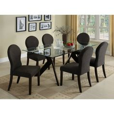You'll love the Grande 7 Piece Dining Set at Joss & Main - With Great Deals on all products and Free Shipping on most stuff, even the big stuff.