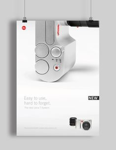 Leica T System – Print Communication by Felix Dürichen, via Behance Ad Design, Book Design, Layout Design, Graphic Design, Presentation Layout, Exhibition Display, Red Logo, Interactive Design, Print Ads