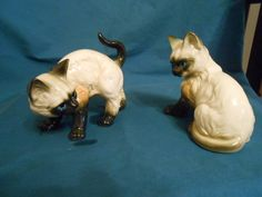 House of Global Art 2 Siamese cats / cat by pequenaboutique, $18.00