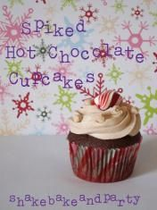 Spiked Hot Chocolate Cupcakes