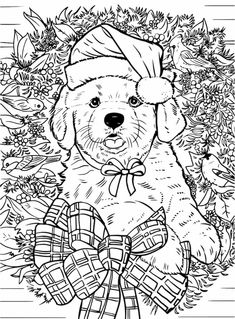 Fox Chapel Publishing is pleased to announce the arrival of two new Christmas coloring books, featuring the artwork of several award-winning artists Puppy Coloring Pages, Adult Coloring Book Pages, Cool Coloring Pages, Doodle Coloring, Cartoon Coloring Pages, Mandala Coloring Pages, Christmas Coloring Pages, Coloring Pages To Print, Coloring Books
