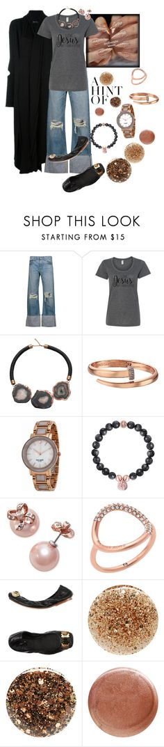 """I Cuss A Little"" by hope-houston ❤ liked on Polyvore featuring Simon Miller, Vince Camuto, Kate Spade, Michael Kors, Rachel Zoe, JINsoon and Nails Inc."