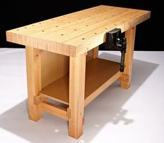 You Can Build This Gorgeous, Do-it-All Workbench