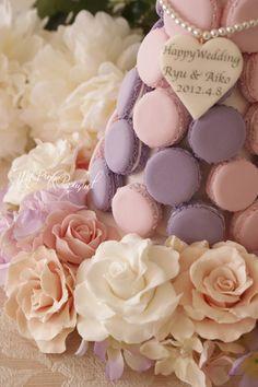 028//ピンクのお色みも、微妙に変化させて、バラのみですが華やかなガーランドです。