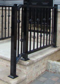 outdoor aluminum railings nj no solicitors please pinterest
