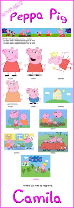 https://flic.kr/p/A5BmNE   Combo 03 Peppa Pig   It is made self-adhesive vinyl For pricing information, riccardozullian.enlamira@hotmail.com Shipping around the world