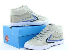 Feiyue DELTA MID Sneakers, Feiyue Grey Canvas Shoes @ http://www.icnbuys.com/feiyue-delta-mid-sneakers-grey-canvas-shoes.html