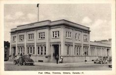 Post Office Post Office, Ontario, Bears, Louvre, Street View, Canada, Building, Travel, Viajes
