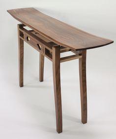 Flight Hall Table No.2 Hall Tables, Fine Furniture, Wood Design, Home Decor, Decoration Home, Hallway Tables, Room Decor, Home Interior Design, Tree Designs
