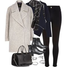 Sin título #4233 by marym96 on Polyvore featuring Alexander Wang, River Island, Topshop, Zara and Yves Saint Laurent