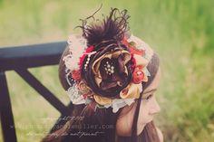 Baby Headbands-Children's Headbands-Persnickety 2013 Headband-Matilda Jane Headband-Flower Girl Headband-Fall Wedding