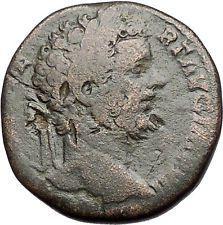 SEPTIMIUS SEVERUS 195AD Sestertius Big Rare Ancient Roman Coin Fortuna i55748 https://trustedmedievalcoins.wordpress.com/2016/05/26/septimius-severus-195ad-sestertius-big-rare-ancient-roman-coin-fortuna-i55748/