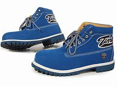 Mens Timberland Classic Boots Sapphire Blue.