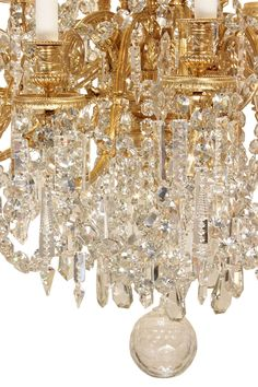 For Sale on - A spectacular palatial scale French mid century Louis XVI st. thirty-six arm ormolu and Baccarat crystal chandelier. The chandelier with four different Baccarat Chandelier, Baccarat Crystal, Vintage Chandelier, Chandelier Pendant Lights, Chandeliers, Electric Light, Hanging Lamps, Lighting Manufacturers, Contemporary Lamps