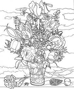 ine Art Leinwand Malvorlage auf Keilrahmen - Ambrosius Bosschaert - Bouquet of Flowers on a Ledge  Keilrahmen Malvorlage - Leinwandbild mit aufgedruckter Malvorlage - d.h. man muss nicht erst das Motiv von einem Vorlagenbogen auf die Leinwand aufbringen.  Lassen Sie Ihrer Kreativität freien Lauf und schaffen Sie Ihr eigenes farbenfrohes Kunstwerk mit Acryl- oder Ölfarben.  Wanddekoration zum selber gestalten - fertig zum aufhängen!