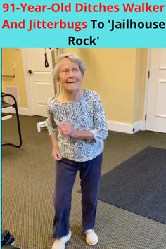 It is never too late to celebrate life! 91-year-old Julia Lewis can teach everyone a lesson or two on enjoying life, no matter the situation. Once she was done with a physical therapy session, she felt so good that all she wanted to do was the jitterbug! So, they put on the music and Julia showed off her dance moves!